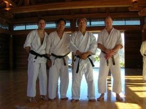 Jesse Haines, John Teramoto, Tsutomu Ohshima, and Brad Markisohn.